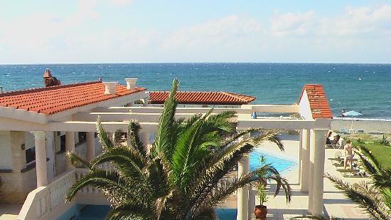 Caretta Beach: Blick vom großen Balkon