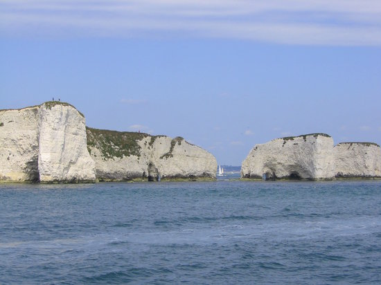Μπόρνμουθ, UK: Old Harry's Rock - Isle of Purbeck