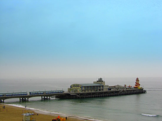 Борнмут, UK: Bournemouth Pier