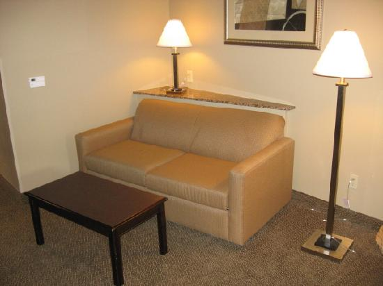 Comfort Suites Seaford: Sofa