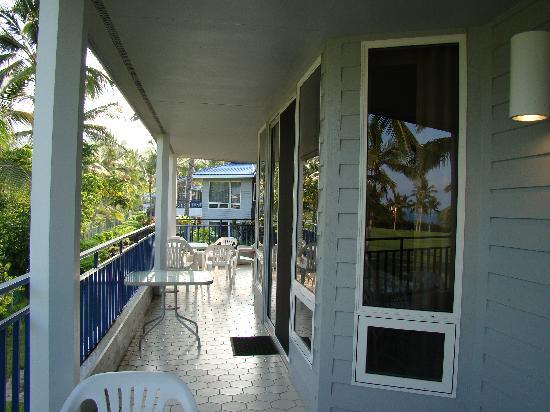 Wyndham Mauna Loa Village: Lanai