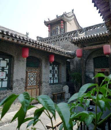 Pingyao Yide Hotel: Desde la ventana del comedor
