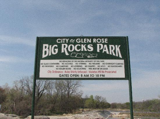 Glen Rose, TX: Big Rocks Park