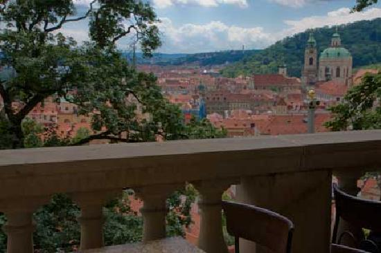 Palais de Lobkowicz : see what Beethoven sees