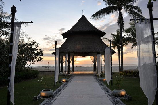 Tuaran, Maleisië: Beautiful wedding gazebo