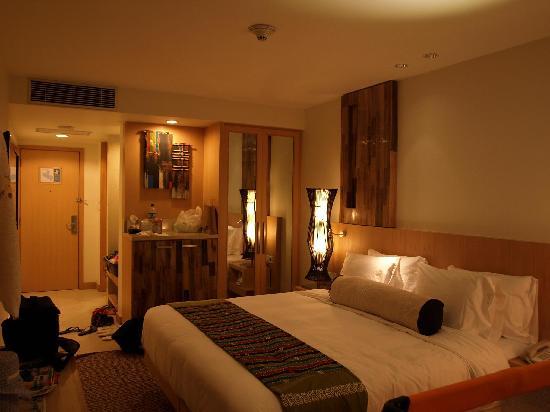 Holiday Inn Resort Baruna Bali : Superior room view towards main entrance