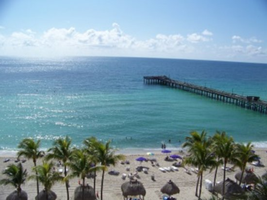Sunny Isles Beach, Flórida: View from the room