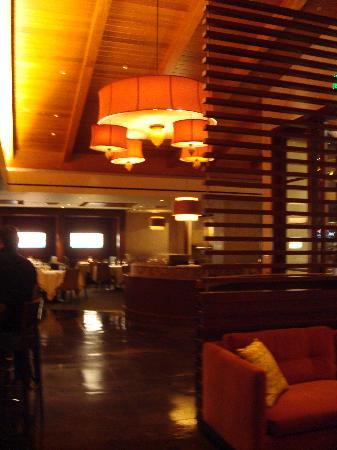 Bradley Ogden at Caesars Palace: view of Bradley Ogden from bar