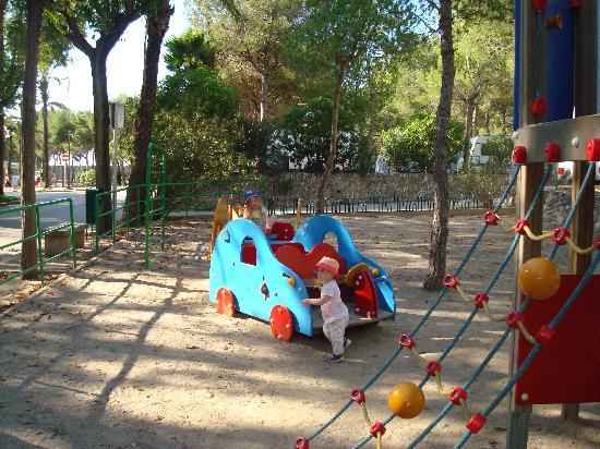 Vilanova Park: Quiet playground