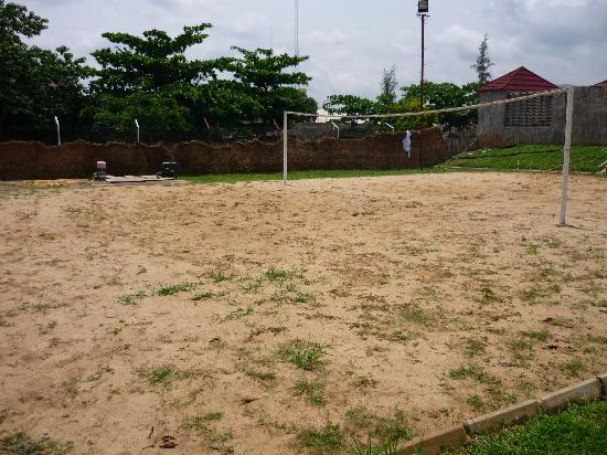 Mediterranean Hotel: Beach Volley Pitch