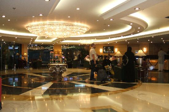 Hilton Makkah: hilton reception