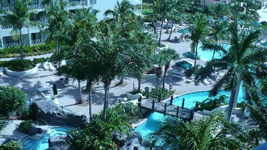 Marriott's Aruba Ocean Club: Pool area