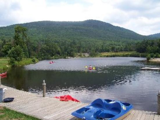 Corcoran's Pond at Waterville Valley, NH