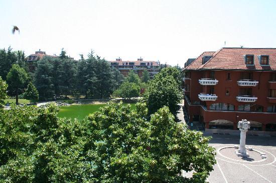 NH Milano 2: Vista dal balcone