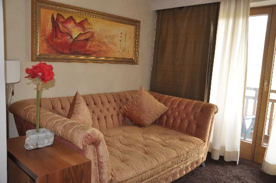 Hotel MOHR life resort: Sofa