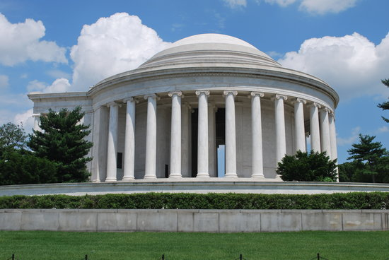 Washington DC, Distrito de Columbia: The Jefferson Memorial