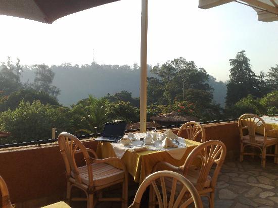 Stipp Hotel Kacyiru: The complementary breakfast