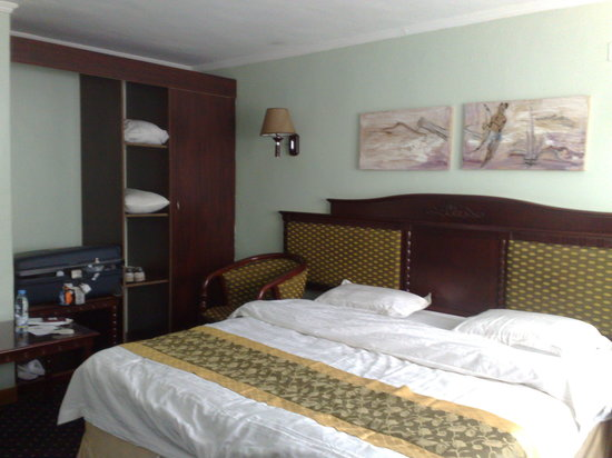 Stipp Hotel Kacyiru: The bed