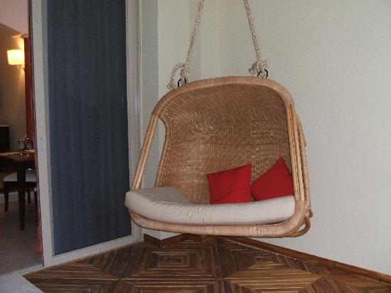Iberostar Grand Hotel Rose Hall: Swing on our Balcony