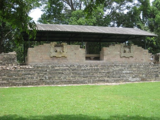 Copan, Honduras : The forum place