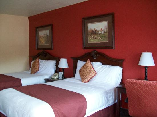 Manor Inn College Station: Nice room