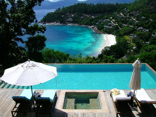 Four Seasons Resort Seychelles: The fantastic two bedroom villa pool and view