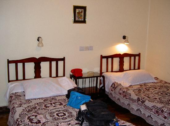 Lotus Hotel: Our Twin room