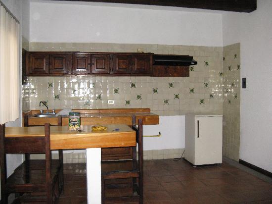 Hostal del Zocalo : Küche