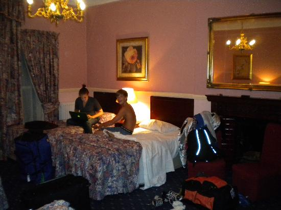 Drogheda, Irland: our family room