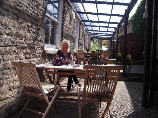 The Fox: Lovely sunny terrace