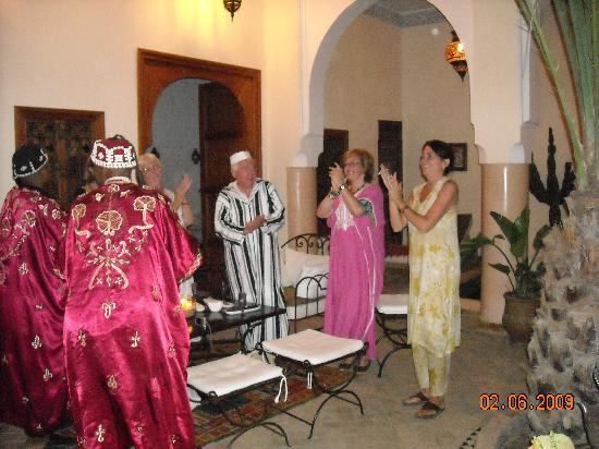 Riad Les Trois Palmiers El Bacha : La fête