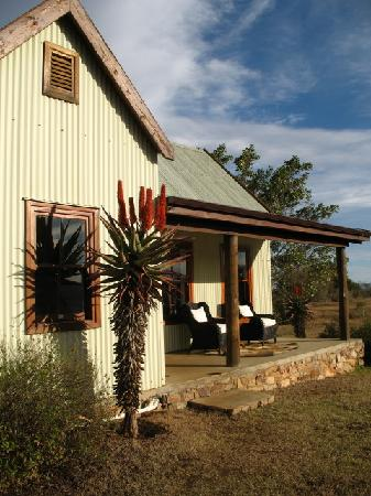 Camp Figtree: guest cottage