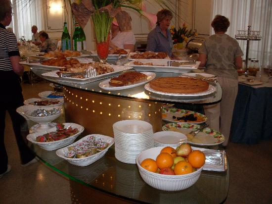 Hotel Grand Italia Residenza d'Epoca: Breakfast