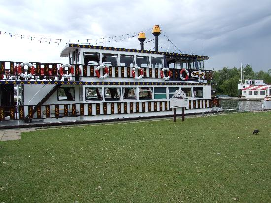 "Little Willows: The Southern Comfort Steam Paddle boat experience from Horning. A definite ""must do"" as recommen"
