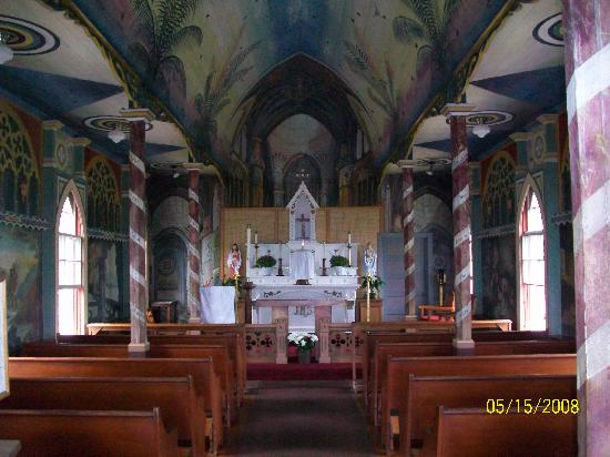 The Painted Church: Interior