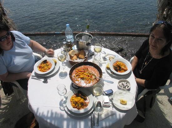 Hostal Restaurante Isleta Del Moro: delicioso