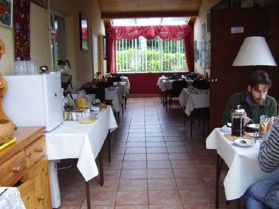 White Lodge Trim: White Lodge Breakfast room