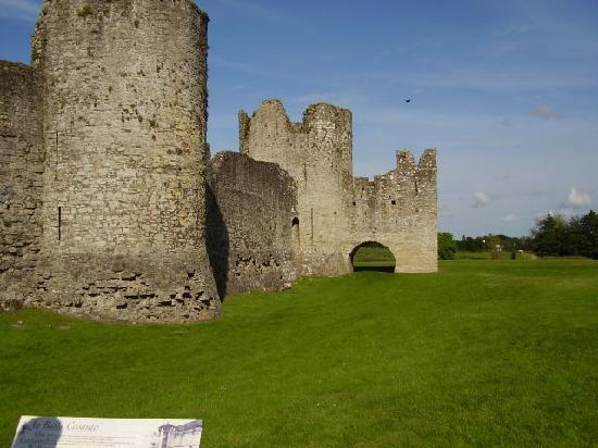 "White Lodge Trim: Scenes from ""Braveheart"" were filmed at Trim Castle"