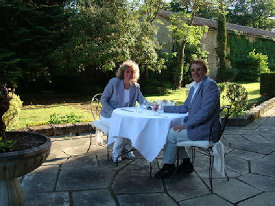 Chateau La Roussille : diner voor ons twee