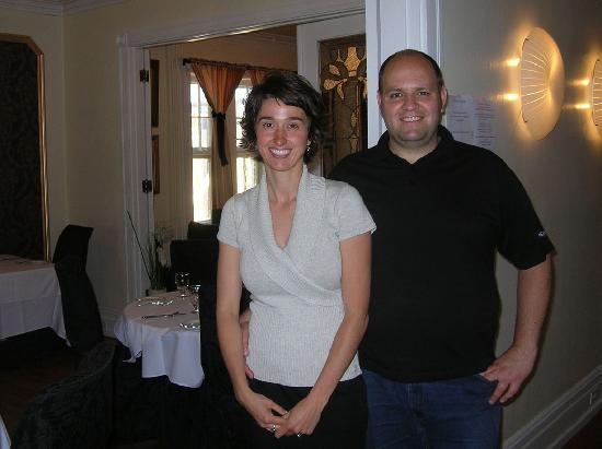 Manoir Becancourt: Jasmine Hébert et Mario Vianni, propriétaires