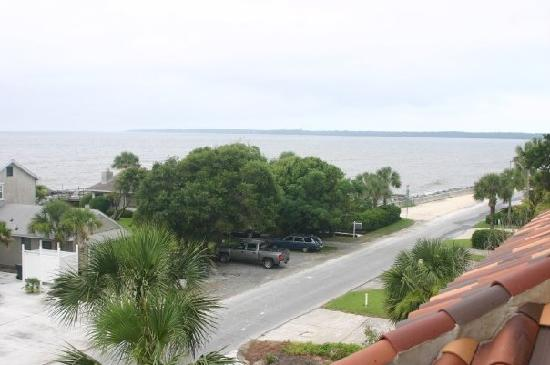 Ocean Lodge : View from our 4th Floor Balcony