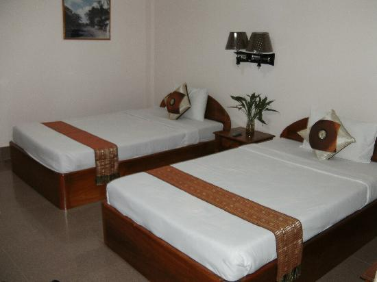 Lotus Lodge: Standard twin room (with air-con)
