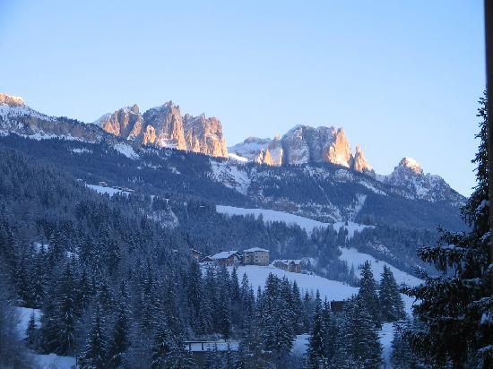 Hotel Vallechiara : tramonto d'inverno