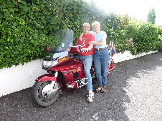 Woodlands Bed & Breakfast: The bikers from Holland