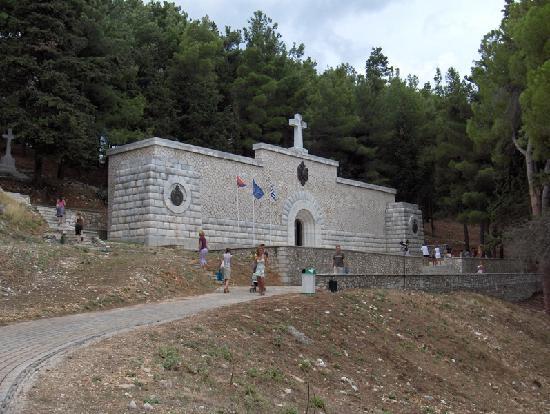 Grecotel Eva Palace: mausoleum - VIDO, Corfu