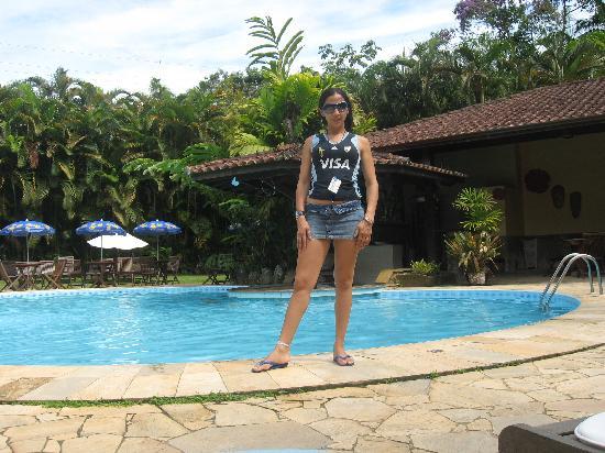 Itamambuca Eco Resort: maru posando