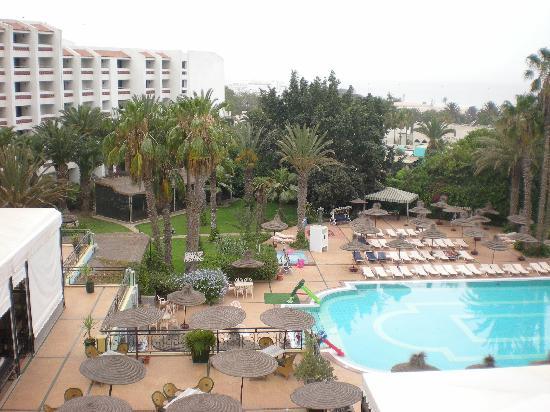 Vue de la fenetre de ma chambre photo de hotel argana for Vue de ma fenetre