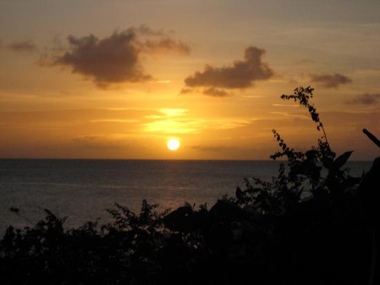 Cap Maison: Sunset from the Restaurant