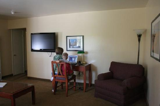 Marin Suites Hotel: Living room