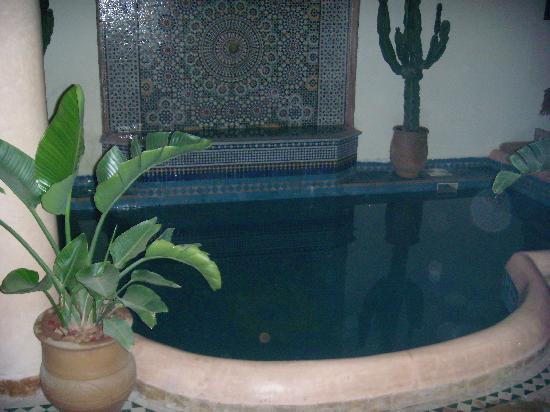 Riad Les Trois Palmiers El Bacha : Piscine du Riad